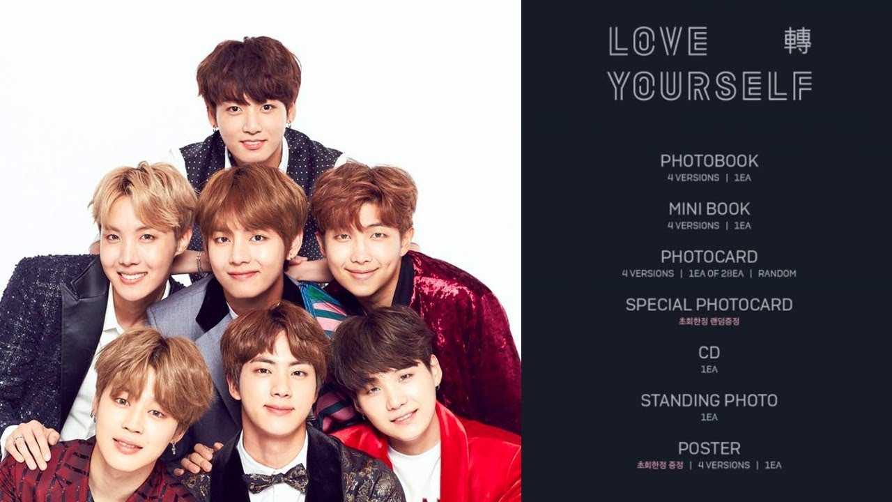Bts love yourself tear preview show