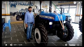 New Holland 3630 4X4 tractor full feature & specification