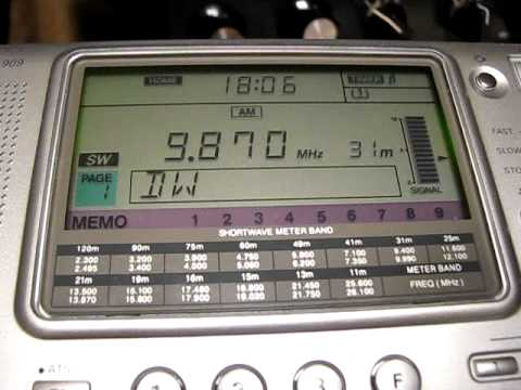 All India Radio Delhi (Vividh Bharati) 9870 kHz. 16.2.2011.