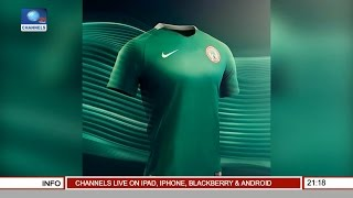 Nigeria Unveils New Football Jerseys As USA Beat Nigeria In Basketball Exhibition Match