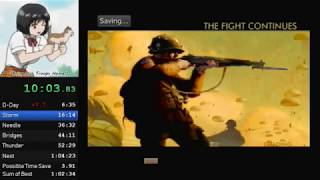Medal of Honor: Frontline any% (1:02:40) (Current WR)