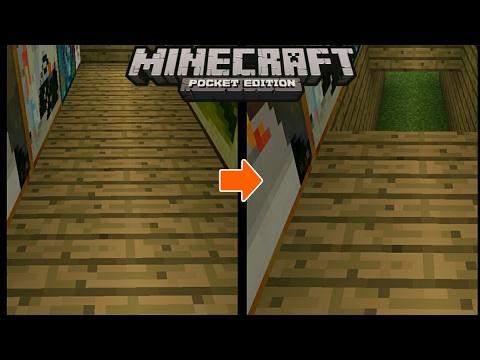 Cara membuat tangga rahasia di minecraft pe