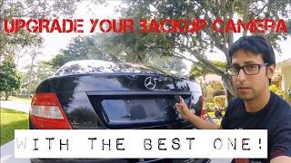 Upgrade your Mercedes Camera + Vinyl Wrap Part 1