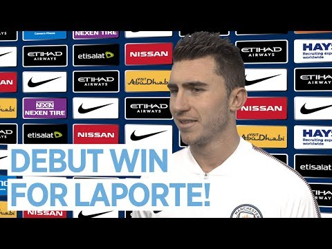 I COULDN'T ASK FOR MORE | Aymeric Laporte Reaction | Manchester City 3-0 West Brom