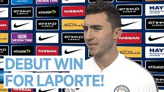 I COULDN'T ASK FOR MORE   Aymeric Laporte Reaction   Manchester City 3-0 West Brom
