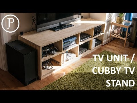 TV Unit / Cubby TV Stand
