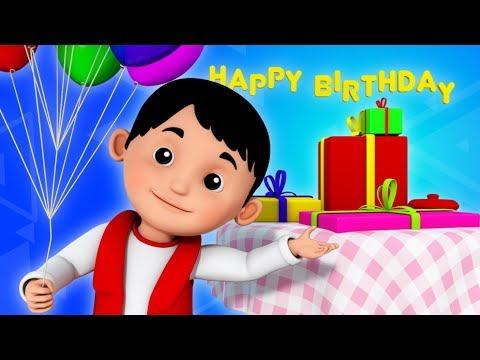 happy birthday song | birthday song | nursery rhymes | cake song | 3d rhymes | childrens rhymes