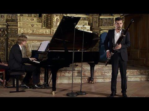 Dubois - Sonatine-tango pour basson et piano - Lomic Lamouroux