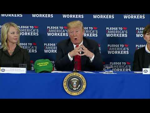 Trump Touts European Trade in Iowa Visit