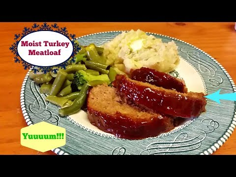 How to Make Easy, Moist Turkey Meatloaf! The Best Meatloaf Recipe