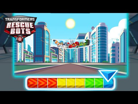 Transformers Rescue Bots: Dash 🤖  Save the world from the evil Dr. Morocco! |