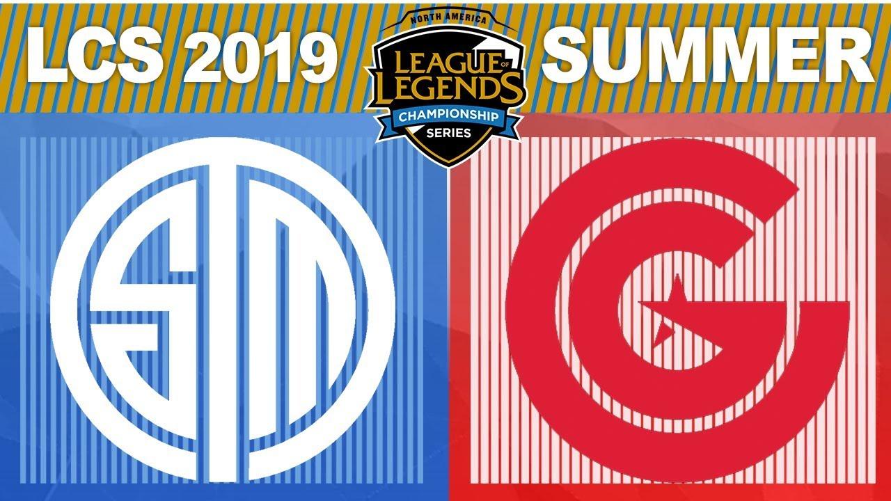 TSM vs CG, Game 4 - LCS 2019 Summer Split Playoffs Quarterfinals - Team  SoloMid vs Clutch Gaming G4