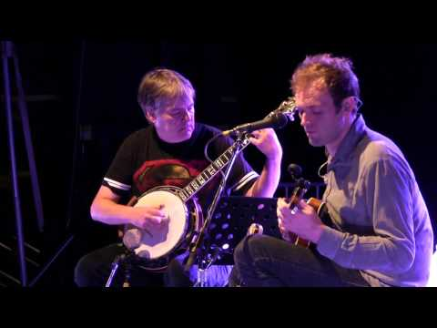 "Bela Fleck and Chris Thile ""Off the Top,"" Grey Fox 2016 Oak Hill, NY"
