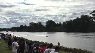 UHPBC Powerboats AUS VS USA 2016 - Unlimited Final K-24 Crash