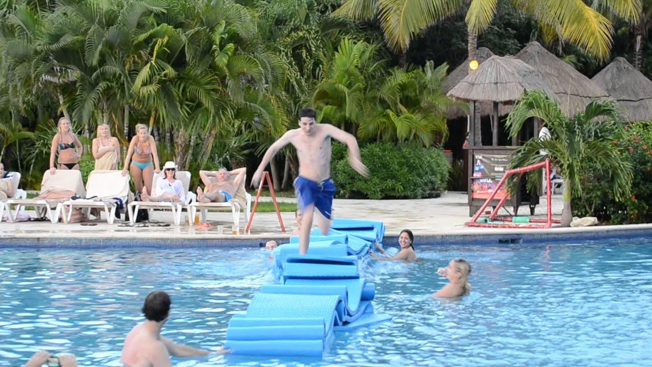 Valentin Imperial Maya   Pool Fun December 2013   YouTube