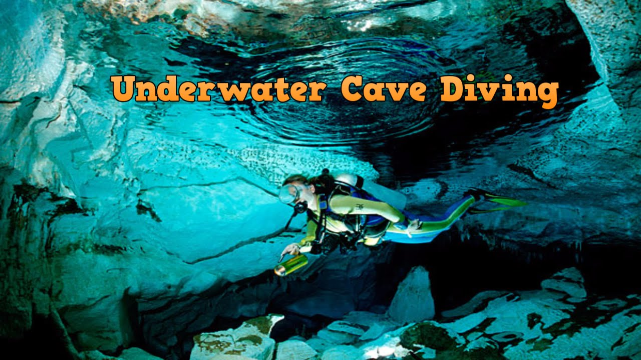 Extreme Underwater Cave Diving