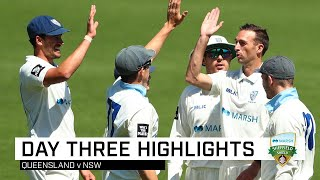 Blues close in as Marnus stands firm at the Gabba | Marsh Sheffield Shield 2019-20