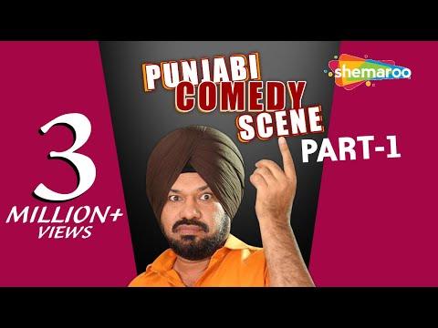 Ghuggi's Garage Part 1 - Ghuggi Yaar Gupp Na Maar - Punjabi Comedy Scene