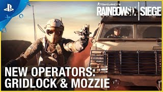 Rainbow Six Siege: Operation Burnt Horizon – Gridlock & Mozzie Trailer | PS4