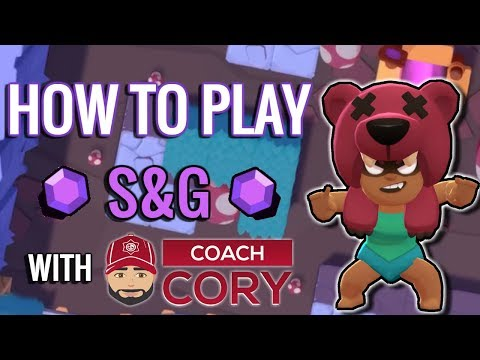 How to Play Smash & Grab! Guide & Tips with Coach Cory! Brawl Stars