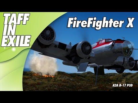 P3D | A2A B-17 | FireFighter X - Greek Forrest Fires