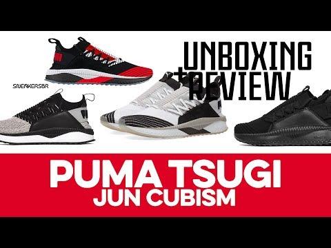 UNBOXING+REVIEW - Puma Tsugi Jun + Jun Cubism