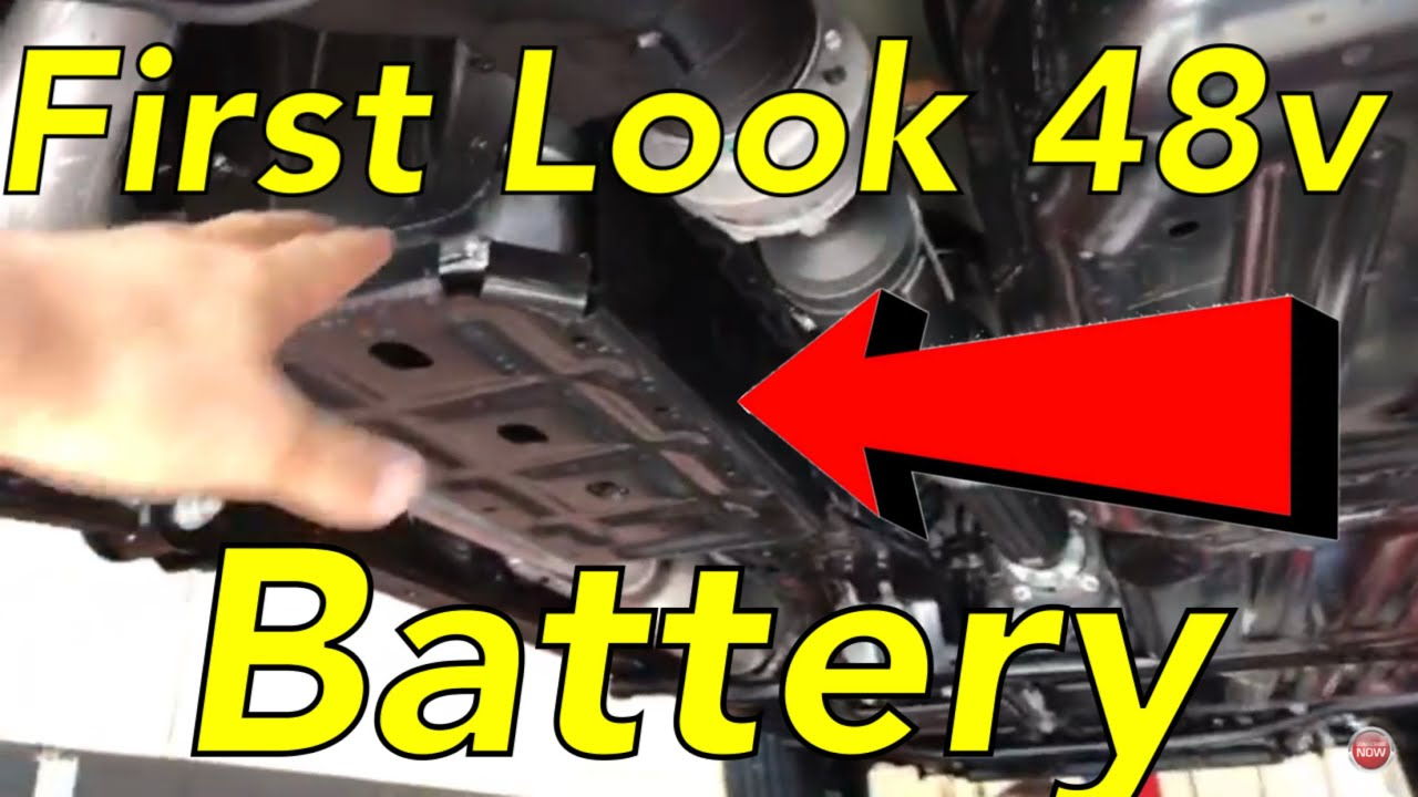 2.0L turbo 48 volt 💥 battery pack first look Jeep JL ...