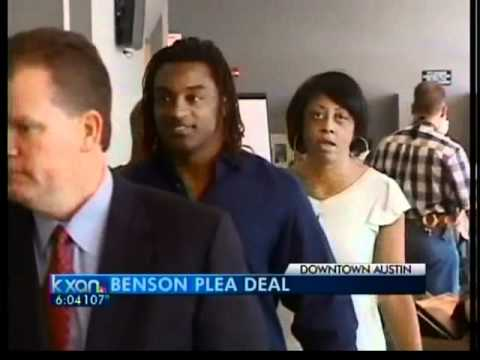 Cedric Benson to serve 20 days in jail - 6 pm News