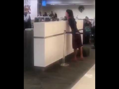 Aviation Blog - Jay Ratliff - Delayed Flight (10 hours) Causes This Passenger To Lose It!