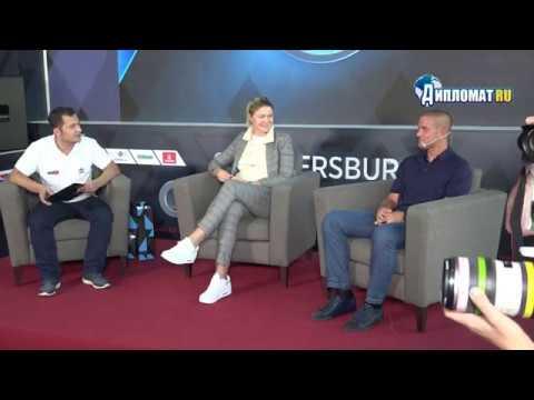 St. Petersburg Open 2019. Tennis Talk Динара Сафина и Михаил Южный
