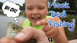 First Time Fishing! Take A Kid Fishing Weekend!