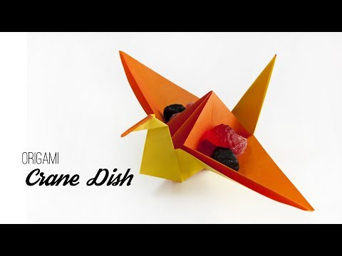 Origami Crane - How to Make the Paper Crane - Only Folding - YouTube | 360x480