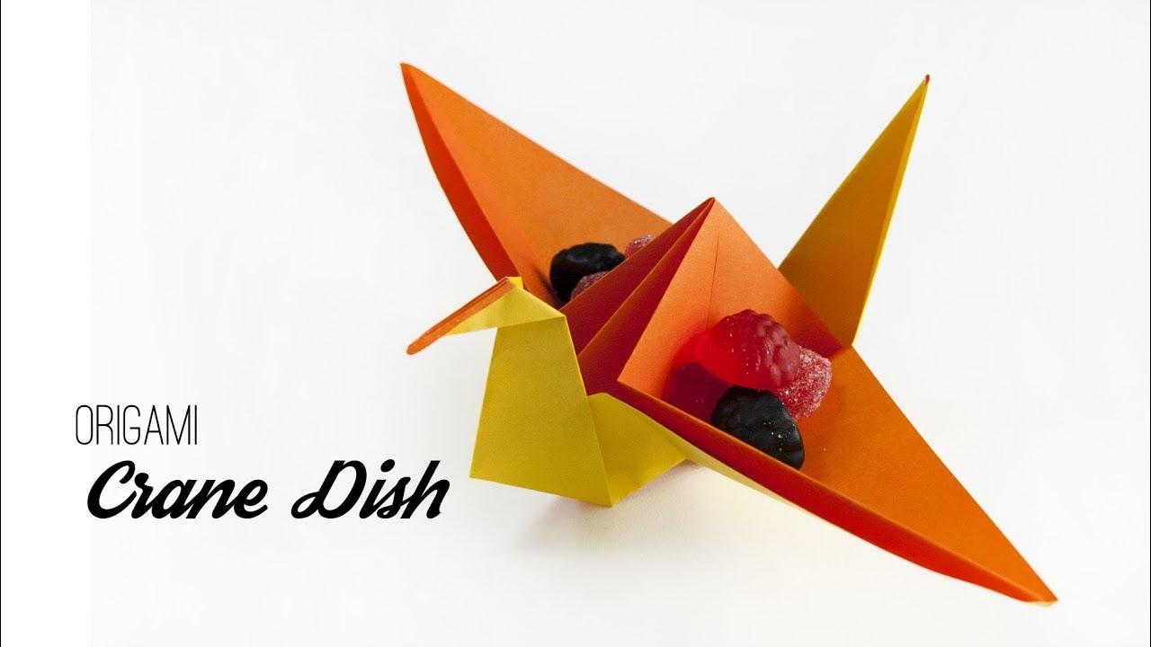 How to Make a Paper Crane!!! | Origami paper crane, Origami patterns, Kids  origami | 720x1280