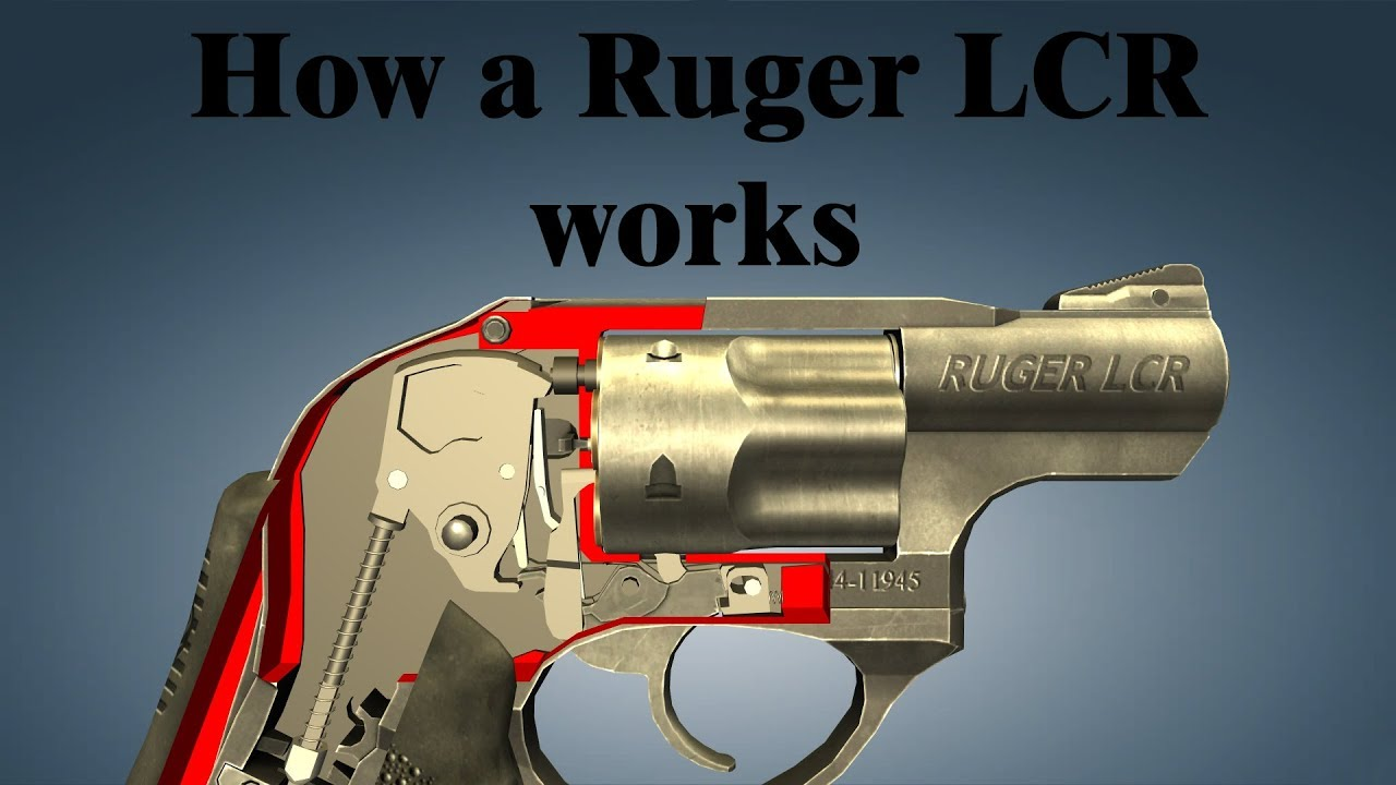 How A Ruger Lcr Works