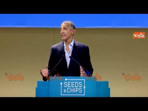 """Obama: """"Io e Michelle verremo spesso in Italia"""""""