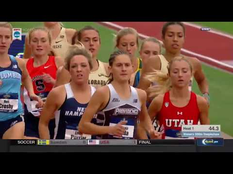 NCAA Women's 3000 Meter Steeplechase Heat 1