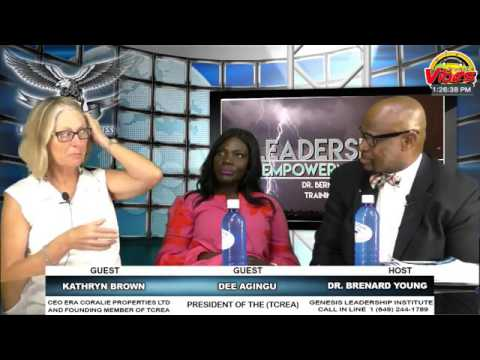 Dr  Bernard A  Young  Nation Building Uncompromising Professionalism Dee Agingu & Kathryn Brown TCRE