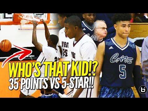 EJ Liddell 35 Point Breakout Game vs 5-star Kansas Commit! Full Highlights