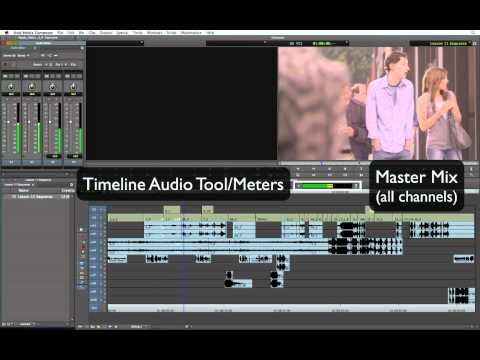 Avid Media Composer 6 - The Audio Mixer