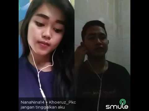 Jangan tinggalkan aku khoirus feat Nana Nina14