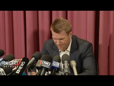 Warner apologises but leaves out the detail