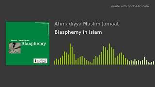 Blasphemy in Islam