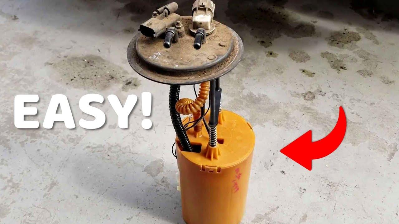 Kia Sorento Fuel Pump Replacement Youtube