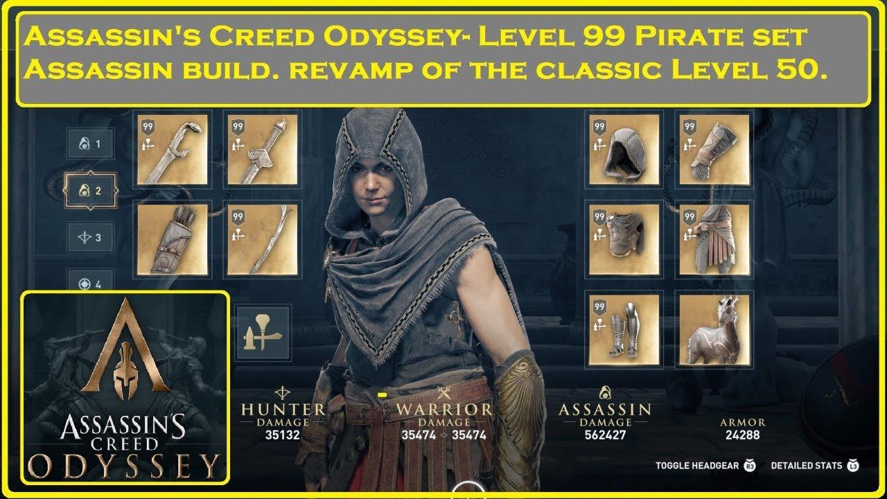 assassins creed odyssey pirate set