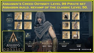Assassin's Creed Odyssey- Pirate Set Assassin Build