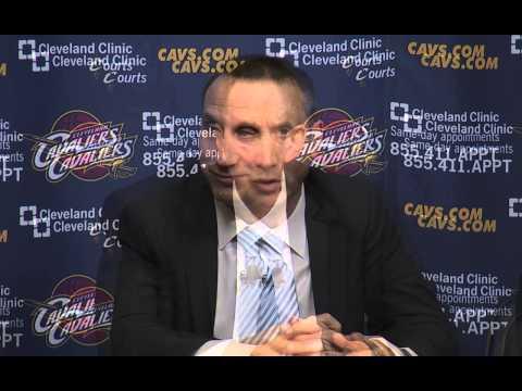 Cleveland Cavaliers introduce Head Coach David Blatt