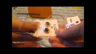 Посылка из  aliexpress.com  - ювелирные изделия (серьги и кольцо)