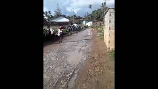 Morador denuncia obra mal feita em Tejucupapo