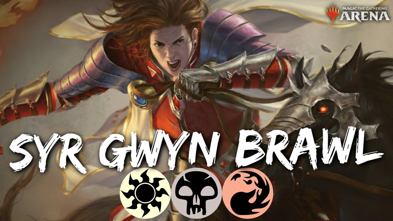 Syr Gwyn, Hero of Ashvale (BRAWL) [MTG Arena] | Knight's Charge Deck Review