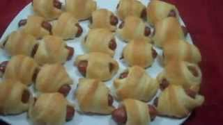 Easy Oscar Party Appetizer - Pig in a Blanket